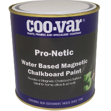 Coo-Var launch magnetic chalkboard paint