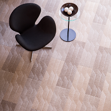 Eye-catching textures and effects for office carpet