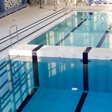 Variopool products for Limerick Uni swimming pool
