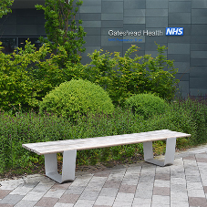 Street furniture for Queen Elizabeth Hospital