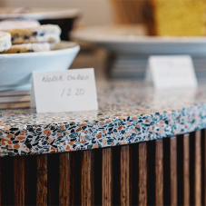 Terrazzo tops the bill at Llewelyn's