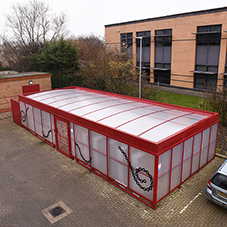 Cycle compound for Oxford Brookes University