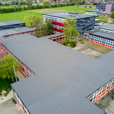 Funded Flat roof solutions for Airedale Academy