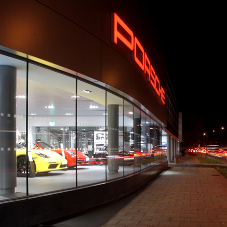 Porsche West London adds style with Encasement