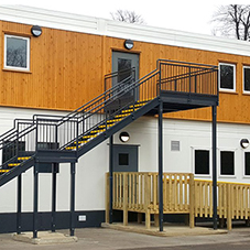 Modular classroom for Wilmington Grammar
