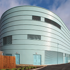 Acoustic louvres for Bilston Leisure Centre