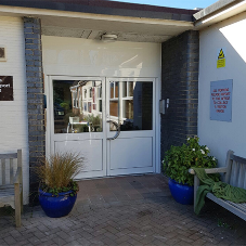 Aluminium doors for Walkers Primary School