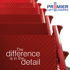 The difference is in the detail with Premier Loft Ladders