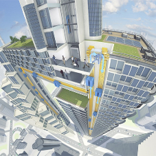 ThyssenKrupp launch world's first rope-free elevator