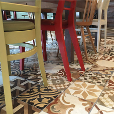 Walls and Floors tiles for Marco Pierre White restaurant