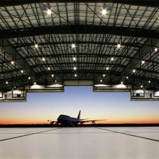 ASSA ABLOY hangar door protects worlds' largest aircraft