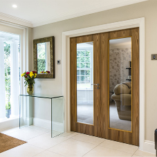 Luxury veneer doors for Surrey home