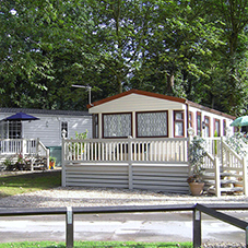 Powapost® post shoes at Nostell Holiday Park