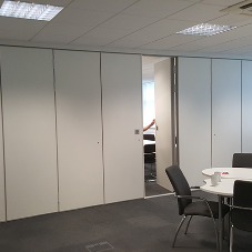 AEG Partitions folding walls are forever versatile