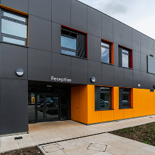 Abet Laminati's laminates create a colourful campus