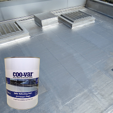 New & improved solar reflective aluminium paint