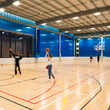 Sports flooring for MyPlace facility