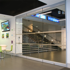 Gilgen sliding wall for Poole Lighthouse Theatre