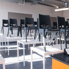 Over 1000 EN ONE One-piece chairs in Liverpool school