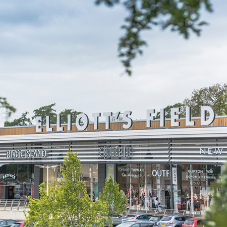 Eurobond composite panels at high end retail park