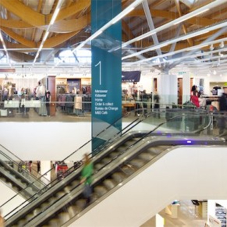 Structural glass balustrades for M&S store