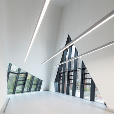 Selux LED luminaires light up Leuphana University