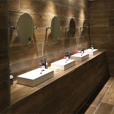 Bathroom re-fit at Northampton Town Football Club
