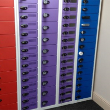 New Media Tower Lockers from Total Locker