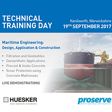 Huesker and Proserve Technical Training Day 2017