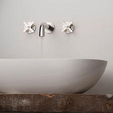 Bauhaus-inspired bathroom fittings enhance interiors
