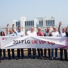 Team from PACAIR visits LG factory in South Korea