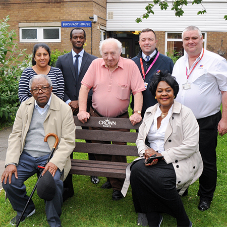 Crown Paints make community contribution for Enfield paint project
