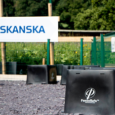 Skanska innovate FenceSafe system at Welsh Water