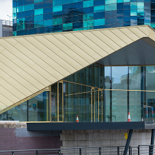 elZinc Rainbow clads the Alchemist in Salford Quays