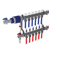Balancing valve assists underfloor heating systems