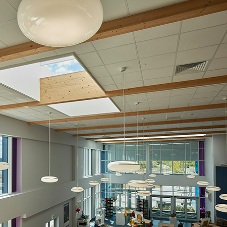 Sunsquare rooflights bring natural light into school