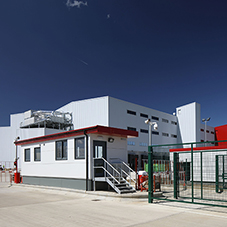 Modular gatehouse for busy distribution centre