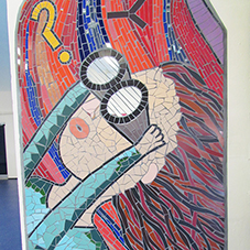 BAL tiling solutions used for school art installation