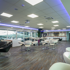 Luxury vinyl tiles on show at Liberty Stadium