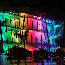 New facade for shopping mall in Sunshine State