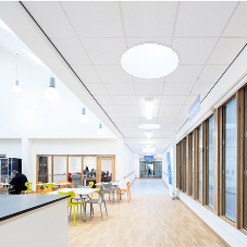 Ceiling solutions for Tisbury Community Campus