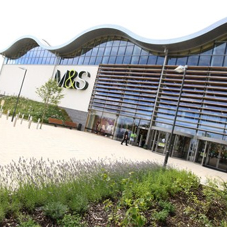 Knauf insulation at most carbon efficient M&S store
