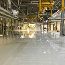 Sika rapid-apply system for Rolls Royce plant