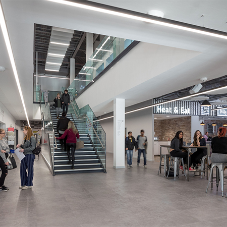 Polyflor brings fresh look to student union
