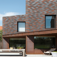 Camber Clay tiles for zero carbon house
