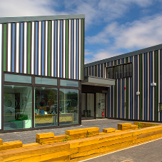 HardiePlank® weatherboard for Holy Cross school