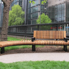 RailRoad seating for Euston Road