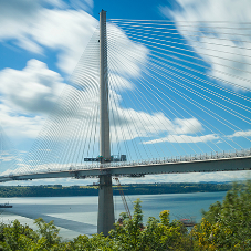 Over 100,000 Ancon Rebar Couplers at Queensferry Crossing
