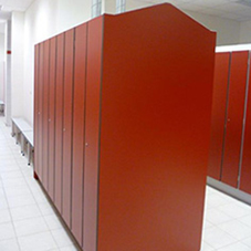 Lockers purposely designed to dry sports clothing