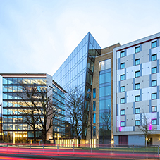 Architectural aluminium products for Premier Inn